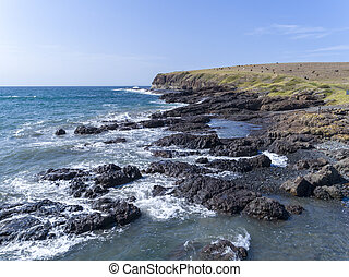The coastal path inlet at Kiama in New South Wales - The ...