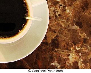 the coffee break time