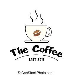 The Coffee East 2018 Cup Of Coffee Background Vector Image