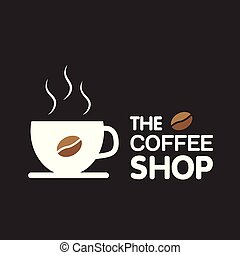 The Coffee Shop Cup Of Coffee Background Vector Image