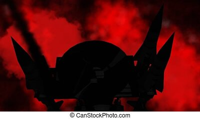 """""""The Cold War period concept"""" - """"Silhouette of Tactical ..."""