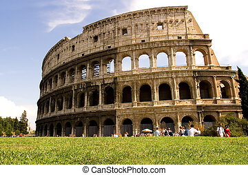 The Coliseum Rome Italy.