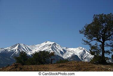The Collegiates - the Collegiate Range in southern Colorado...