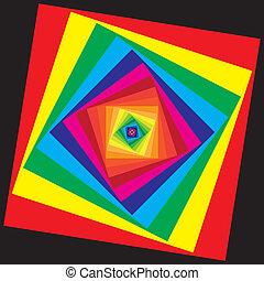 The color palette spiral