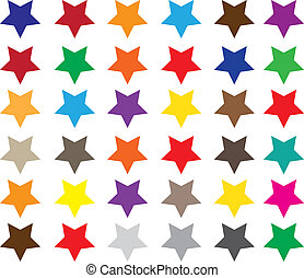 The color stars