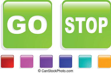the color vector web icon set