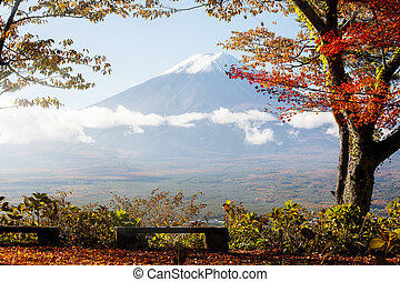 Colorful Autumn in Mount Fuji, Japan - Lake Kawaguchiko is one of the best places in Japan