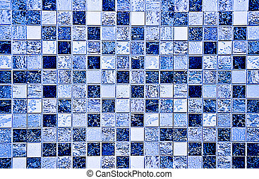 The Colorful ceramic tiles wall decoration