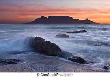 The colors of Table Mountain