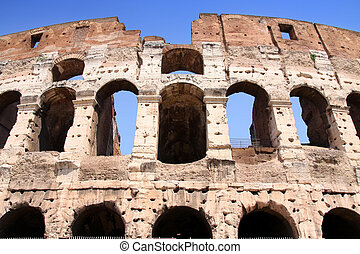 Colosseum  - The Colosseum in Rome, Italy
