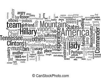 The Commander In Chief Has The Vapors Again text background wordcloud concept