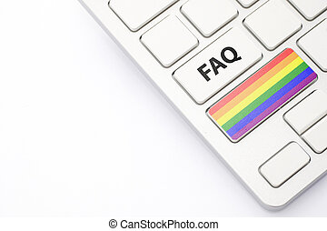 The concept FAQ - answers and questions on the LGBT community
