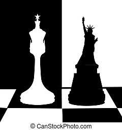 The concept of a political game. United State
