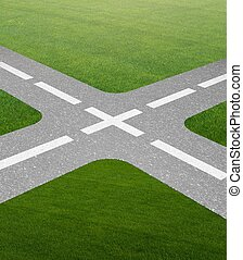The concept of crossroads in uncertainty concept