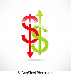 The concept of exchange rates. Dollar