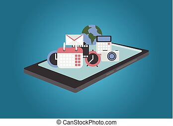 The concept of mobile applications