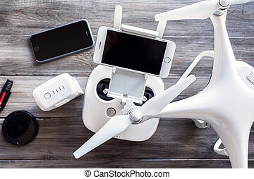 The concept of preparation drone for aerial flight