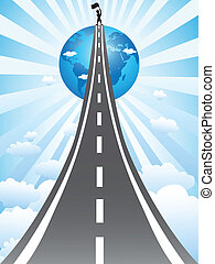 road to success - the concept of road to success