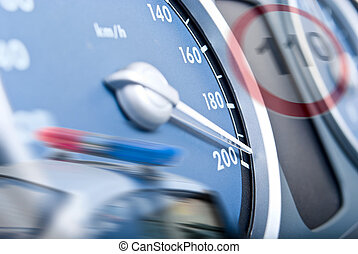 The concept of speeding