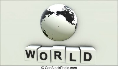 The concept of the word WORLD. What does the word peace. World