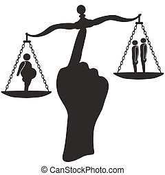 weight balance - the concept of weight balance between fat...