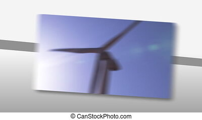 The concept of wind power - Animation presenting the concept...