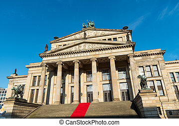 The concert hall in Berlin, Germany