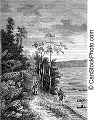 The Congo stations. The Passage of Valencia. From Travel...