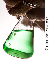 The conical flask
