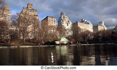 Conservatory Water in Central Park - The Conservatory Water...