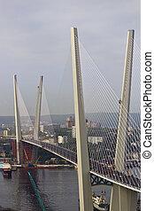 The constructed bridge