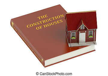 the construction of houses concept