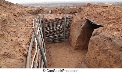 The construction of trenches, dugouts and caponiers -...