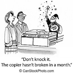 "The Copier Works Like Magic from Merlin - ""Don't knock it...."