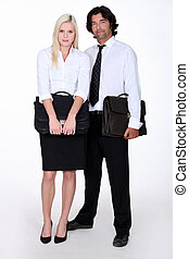 The corporate couple