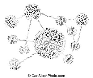 The Cost Of Solar Energy Word Cloud Concept Text Background
