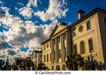 The County Courthouse in Charleston, South Carolina.