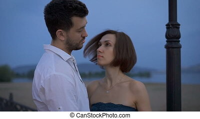 The couple brings a romantic relationship over time.