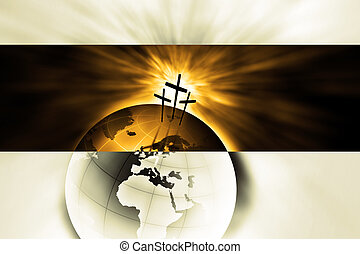 The creation is saved by the Lord Jesus Christ