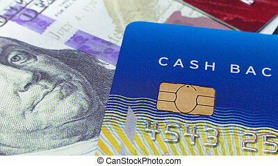 credit card close up image for business content.