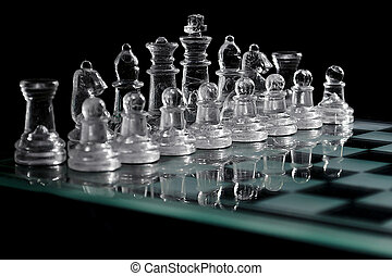 The Cristal Chess Board
