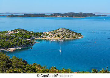 The Croatian coast