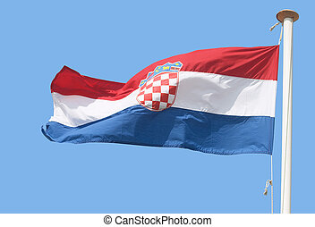 Croatian flag - The Croatian flag