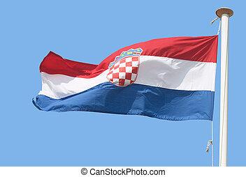 The Croatian flag