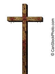 The Cross - Illustration of the cross of Christ.