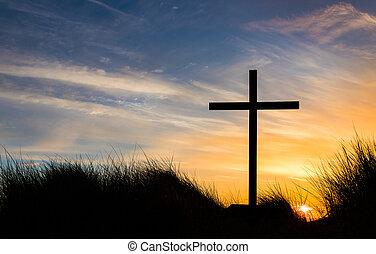 The Cross Sundown