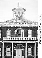The Custom House in Salem, Massachusetts