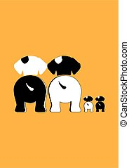 cute dog family site and looking foward