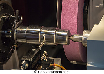 The cylindrical grinding machine. - The cylindrical grinding...
