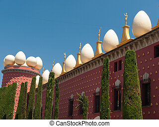 The Dalí Theatre and Museum - Figueras, Spain - FIGUERAS,...